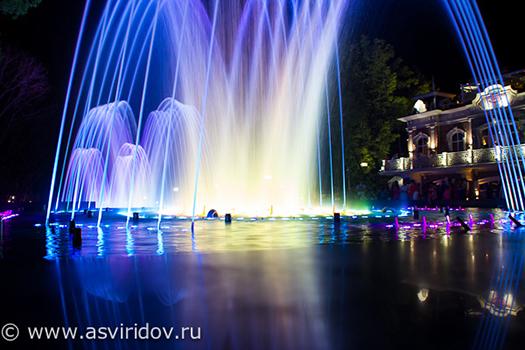 Фото фонтана на Авроре