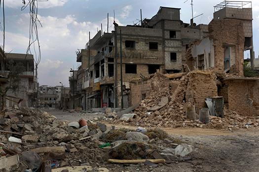 Сирия охвачена войной