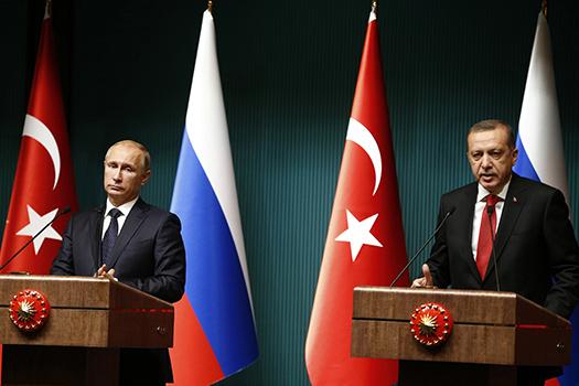 Россия и Турция, Путин и Эрдоган