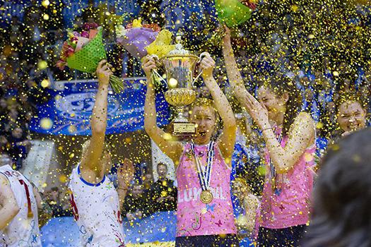 Динамо (Краснодар)  — чемпион кубка ЕКВ!