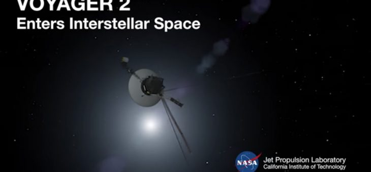 Вояджер-2 прислал сигнал из межзвездного пространства